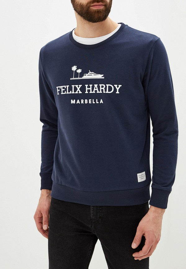 мужской свитшот felix hardy, синий