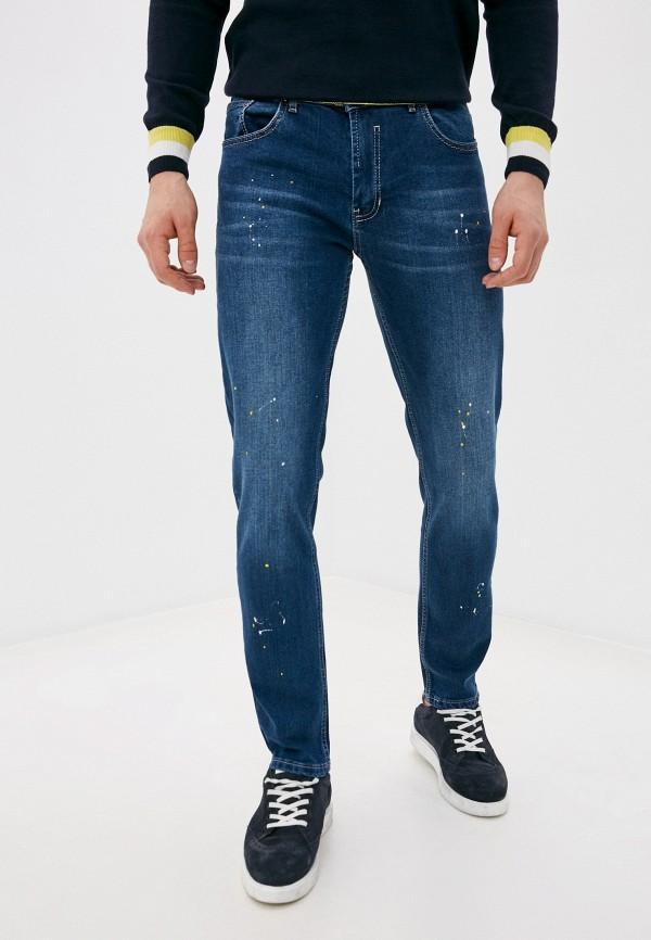 мужские зауженные джинсы felix hardy, синие