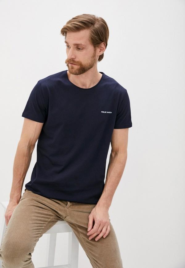 мужская футболка с коротким рукавом felix hardy, синяя