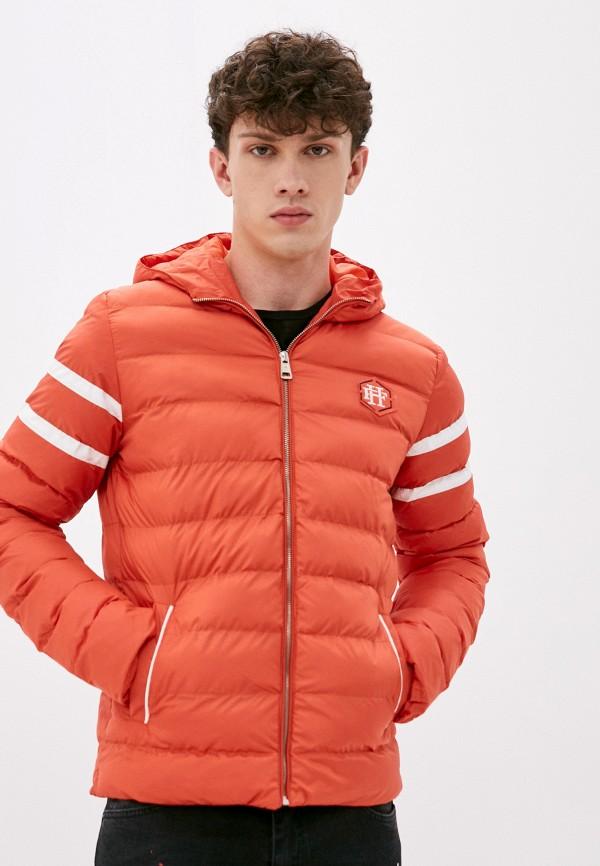 мужская куртка felix hardy, оранжевая