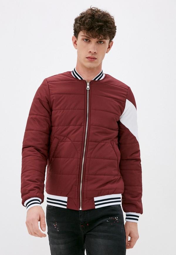 мужская куртка felix hardy, бордовая