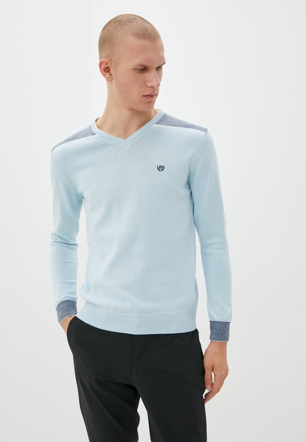 мужской пуловер felix hardy, голубой