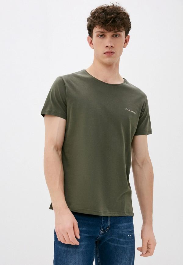 мужская футболка с коротким рукавом felix hardy, хаки
