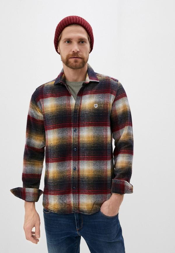 мужская рубашка с длинным рукавом felix hardy, разноцветная