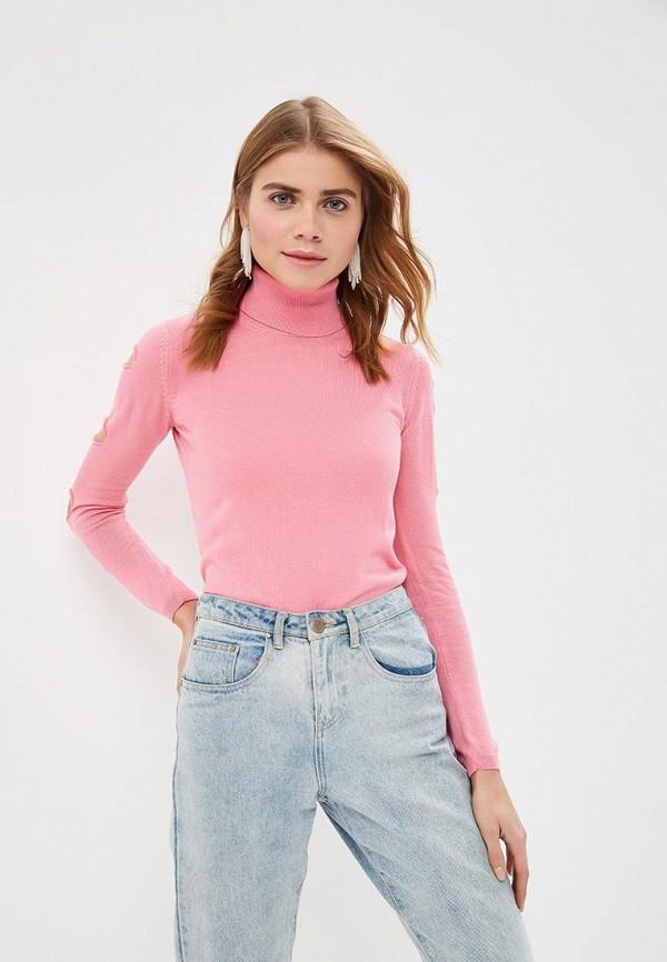 женская водолазка felix hardy, розовая