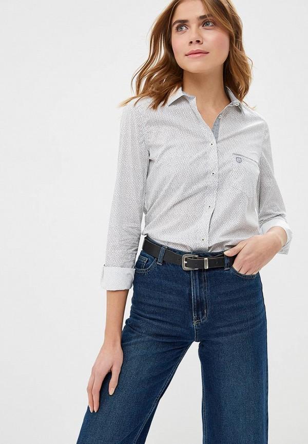 женская рубашка с длинным рукавом felix hardy, белая