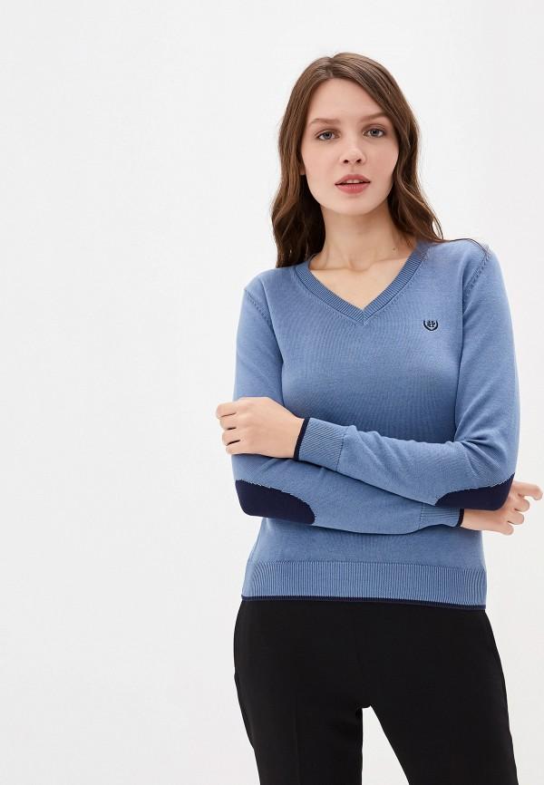 женский пуловер felix hardy, синий