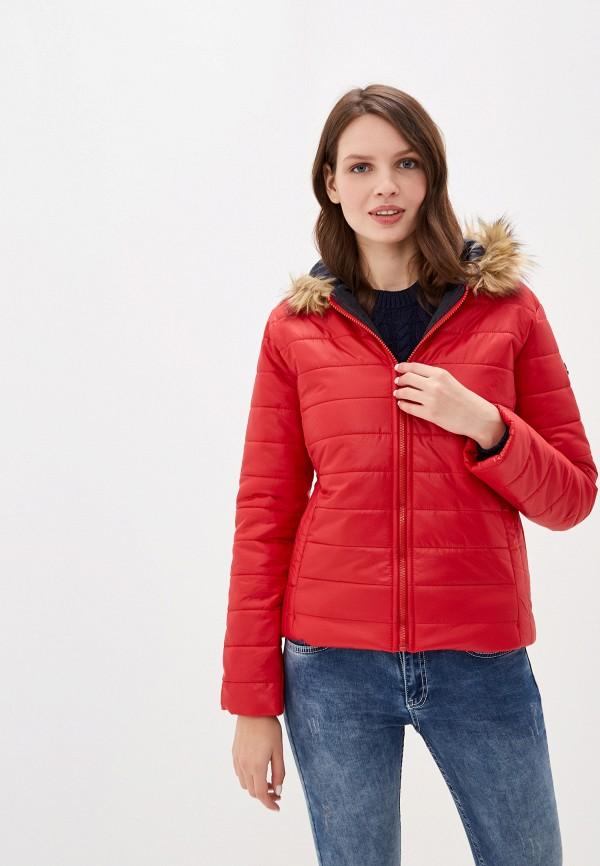 женская куртка felix hardy, красная