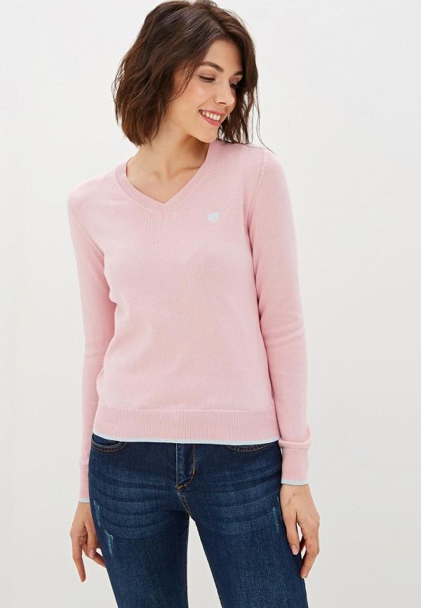 женский пуловер felix hardy, розовый