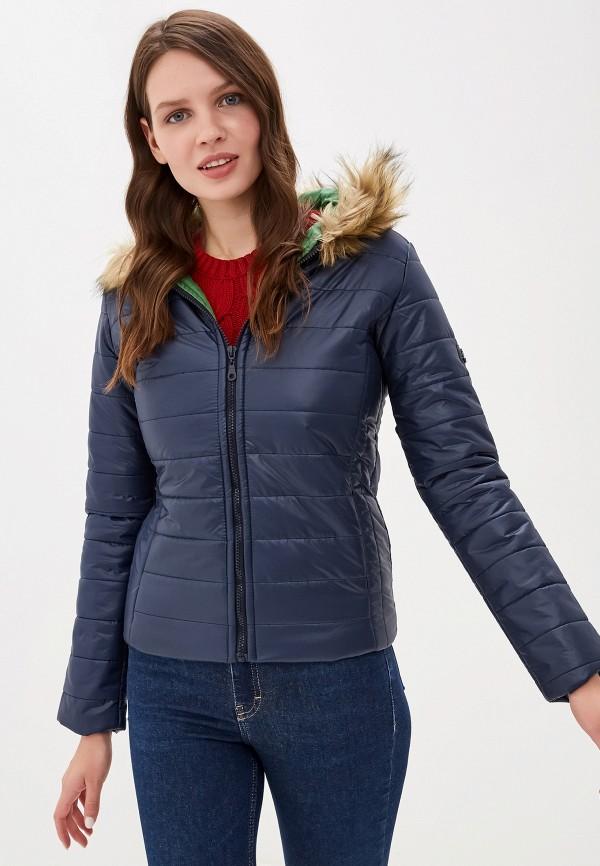 женская куртка felix hardy, синяя
