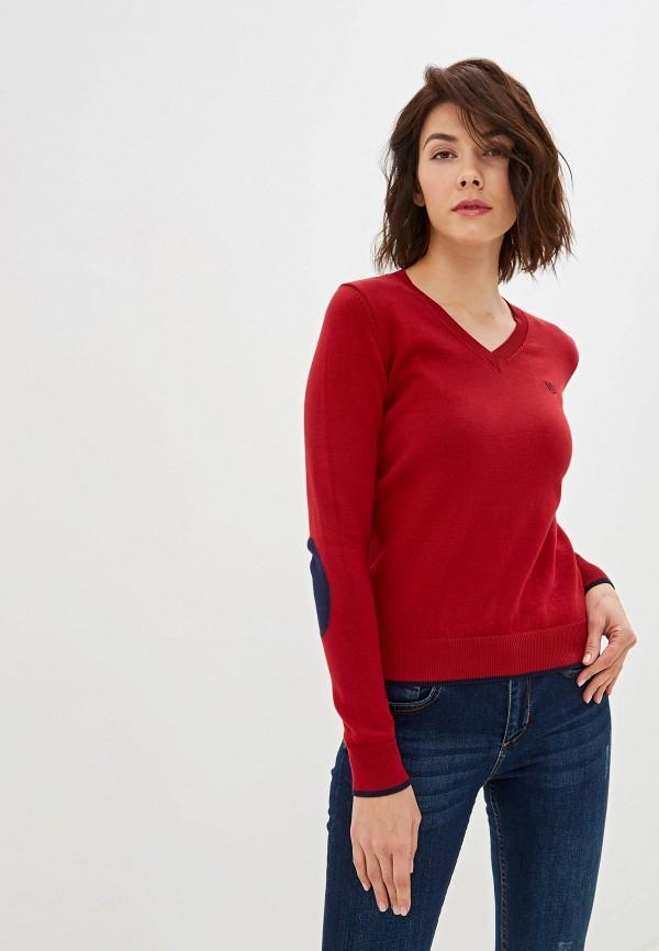 женский пуловер felix hardy, бордовый