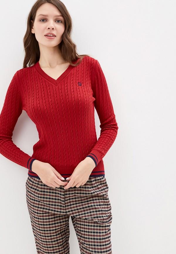 женский пуловер felix hardy, красный