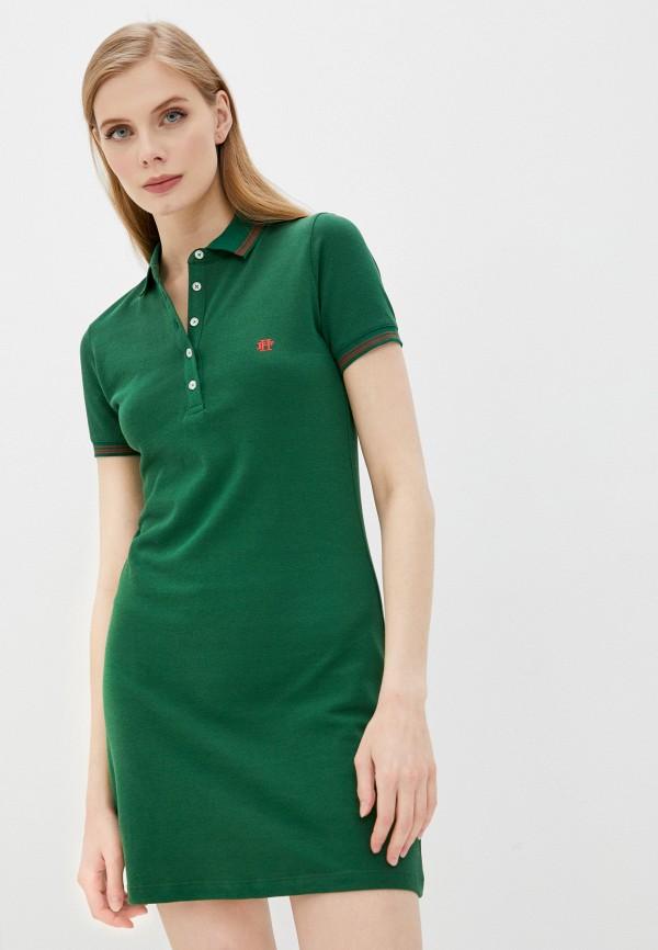 женское платье felix hardy, зеленое