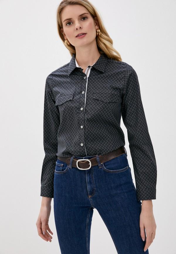 женская рубашка с длинным рукавом felix hardy, серая