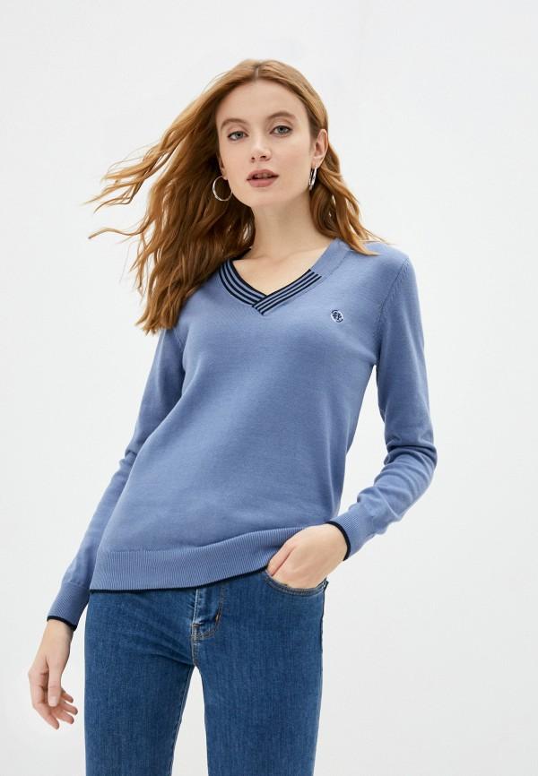 женский пуловер felix hardy, голубой