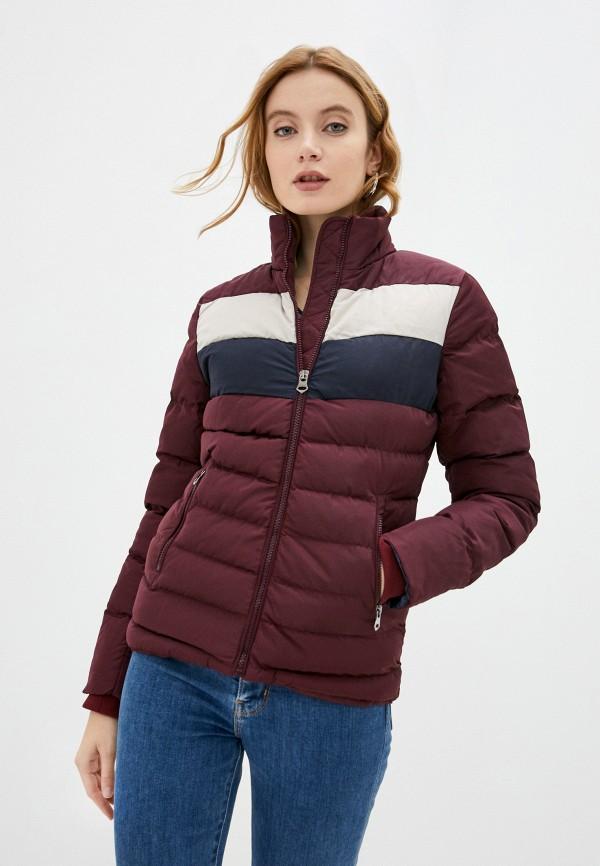 женская куртка felix hardy, бордовая