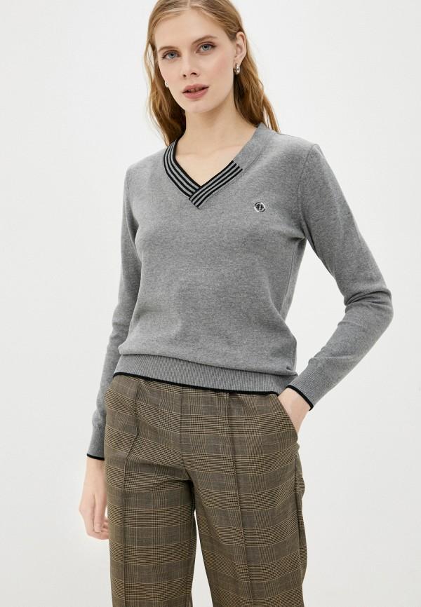 женский пуловер felix hardy, серый