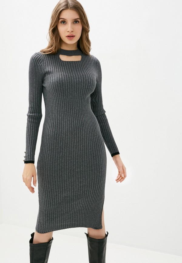 женское платье felix hardy, серое