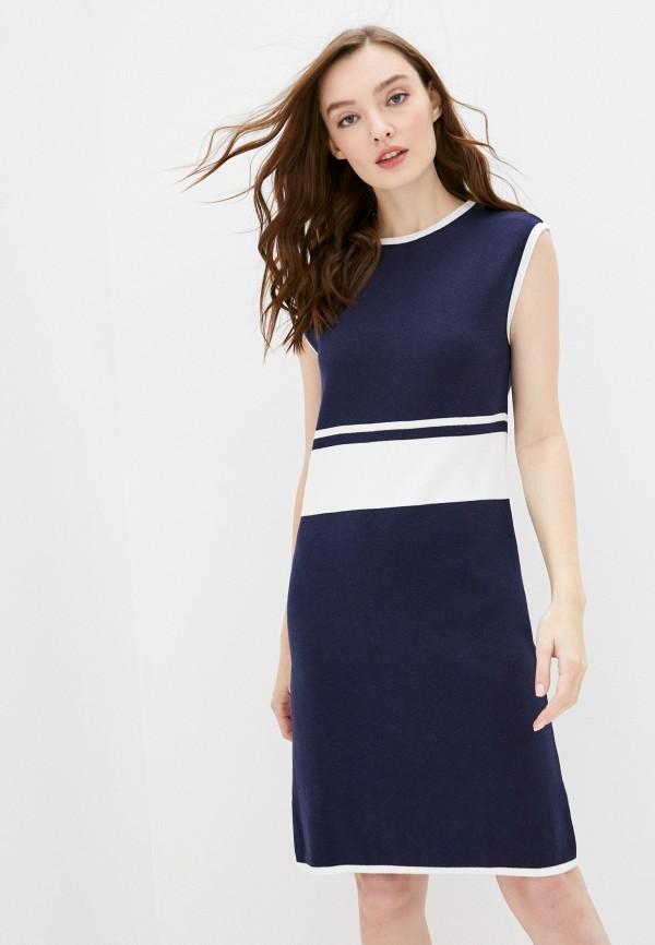 женское повседневные платье felix hardy, синее