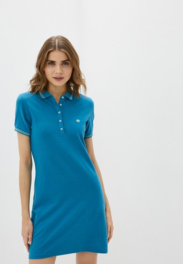 женское платье felix hardy, голубое