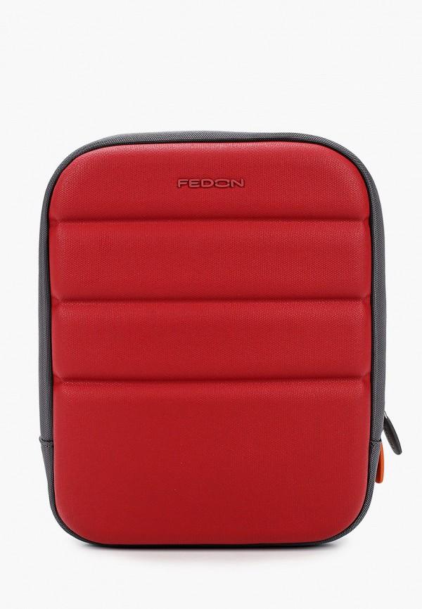 мужская сумка fedon 1919, красная