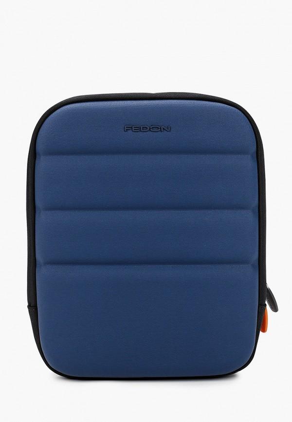 мужская сумка fedon 1919, синяя