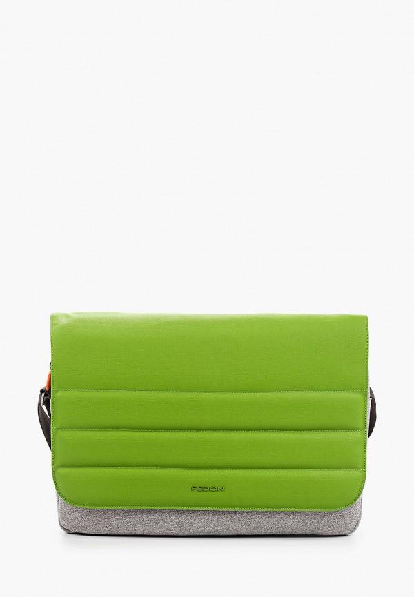 мужская сумка fedon 1919, зеленая