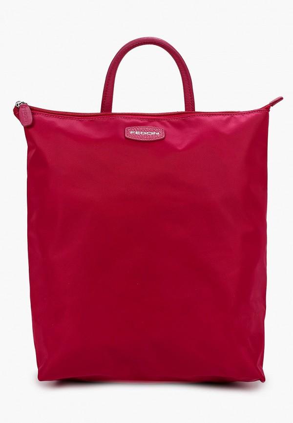 женский рюкзак fedon 1919, розовый