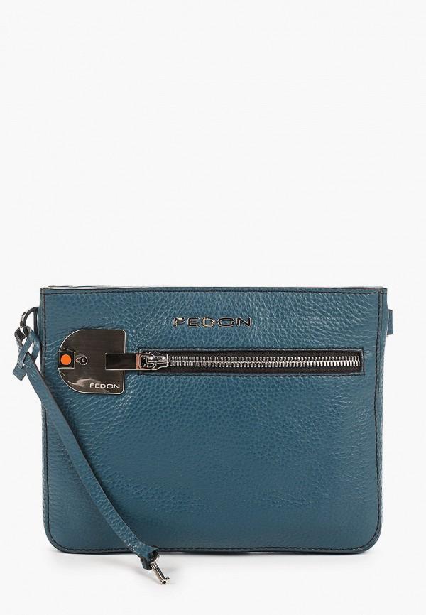 женская сумка fedon 1919, зеленая