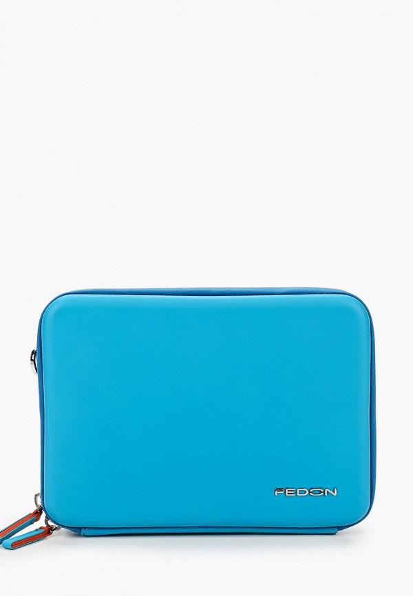 женская сумка fedon 1919, голубая