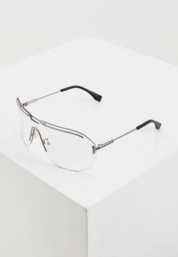 женские солнцезащитные очки fendi, серые