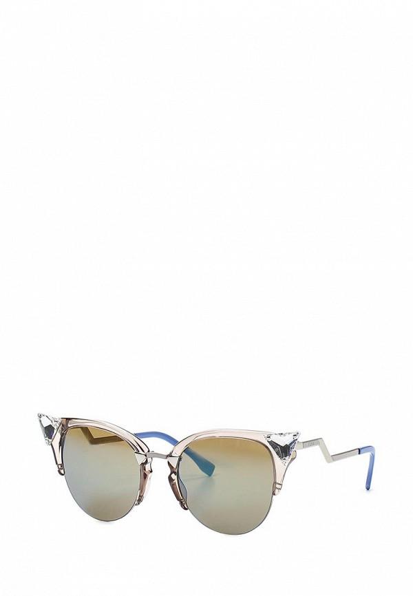 Очки солнцезащитные Fendi Fendi FE368DWEPC22 перчатки fendi