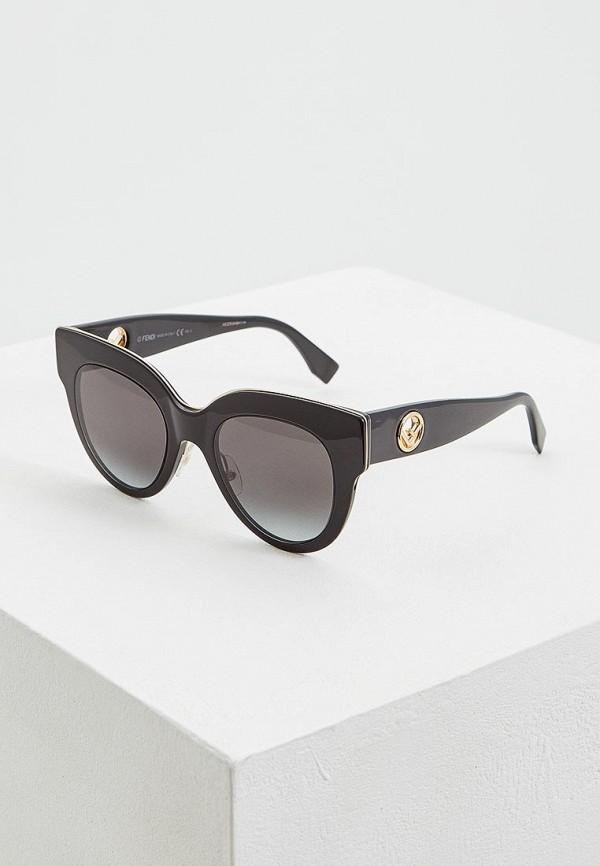 Очки солнцезащитные Fendi Fendi FE368DWEYCU3 цена