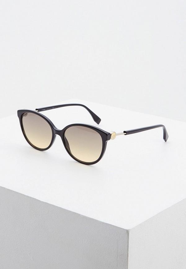Очки солнцезащитные Fendi Fendi FE368DWHBJG6 цены онлайн