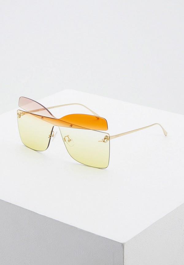 цена на Очки солнцезащитные Fendi Fendi FE368DWHBJH2