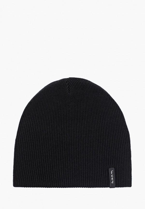 мужская шапка ferz, черная
