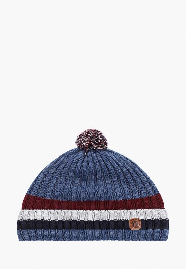 мужская шапка ferz, голубая