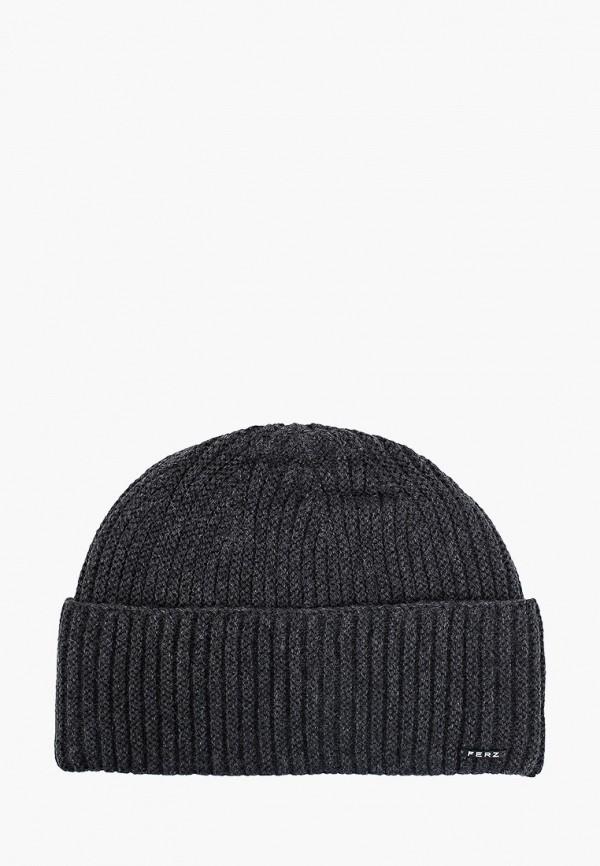 мужская шапка ferz, серая