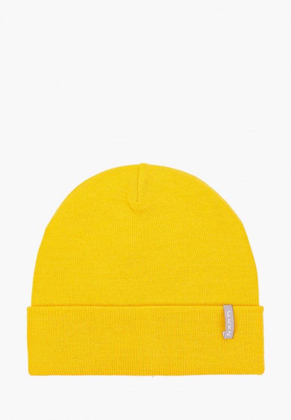 женская шапка ferz, желтая