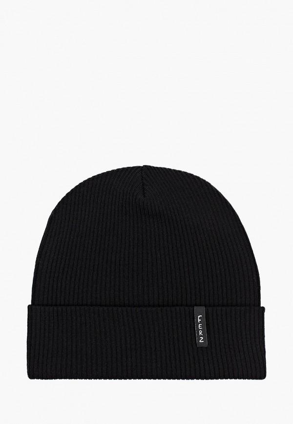 женская шапка ferz, черная