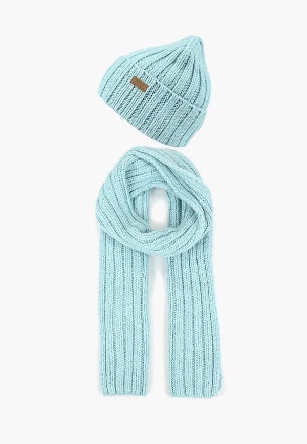 женский шарф ferz, голубой
