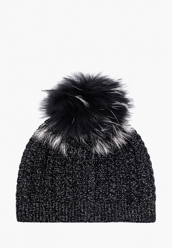 Фото 2 - женскую шапку Ferz черного цвета