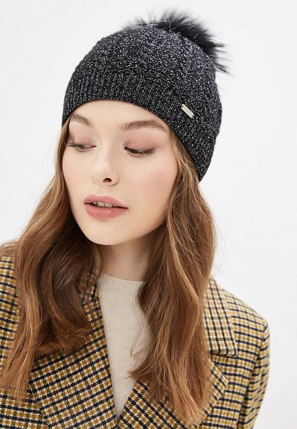 Фото 3 - женскую шапку Ferz черного цвета