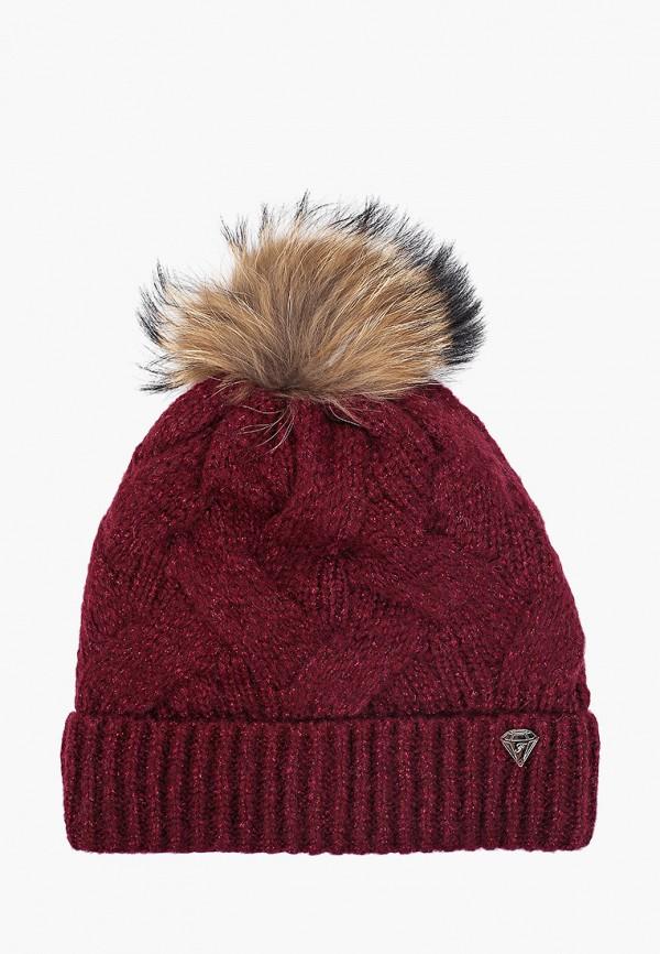 женская шапка ferz, красная