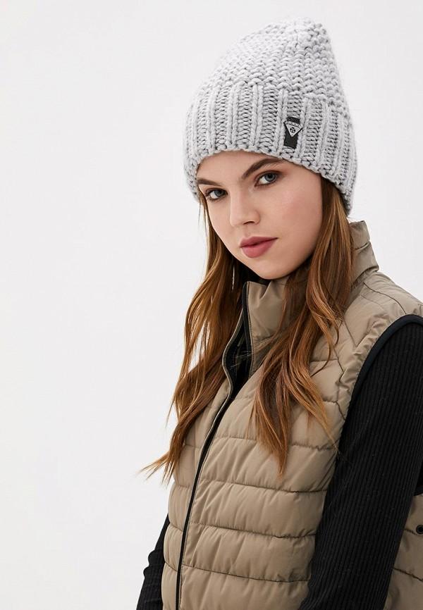 Фото 3 - женскую шапку Ferz серого цвета