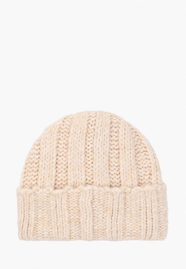 Фото 2 - женскую шапку Ferz бежевого цвета