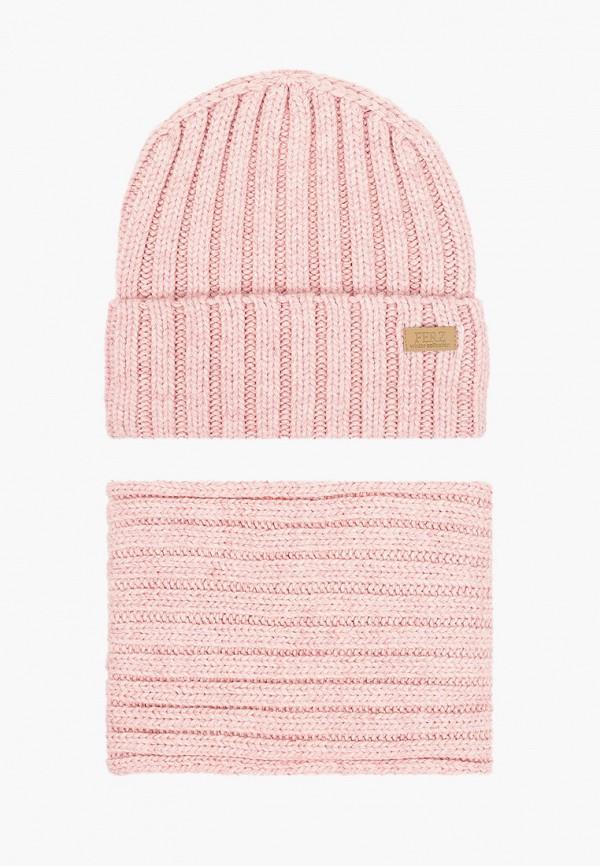женский шарф ferz, розовый