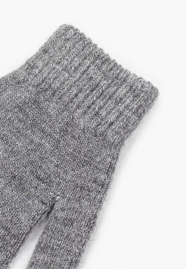 Фото 2 - женские текстильные перчатки Ferz серого цвета