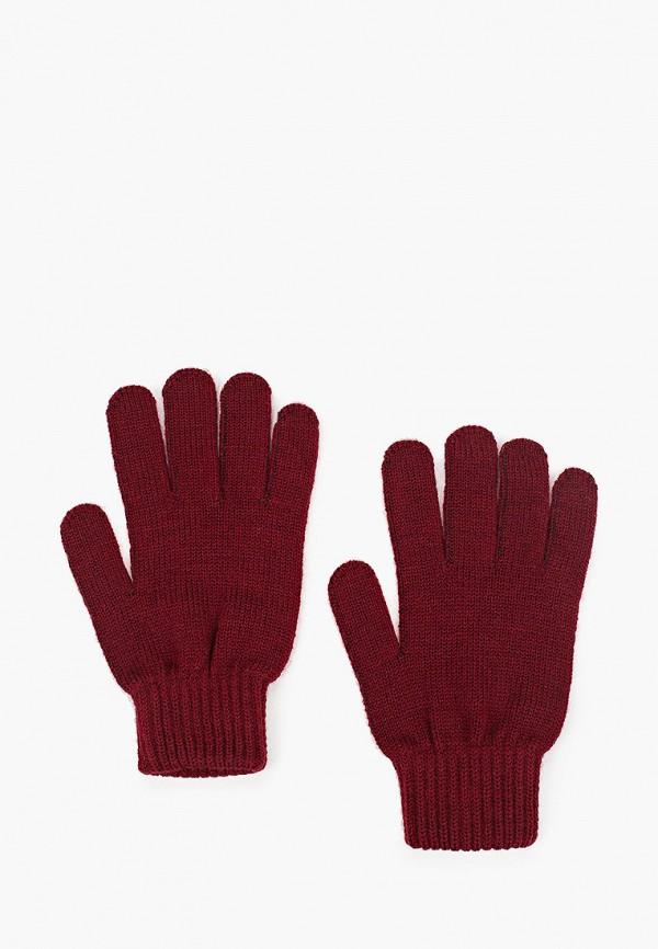 женские текстильные перчатки ferz, бордовые