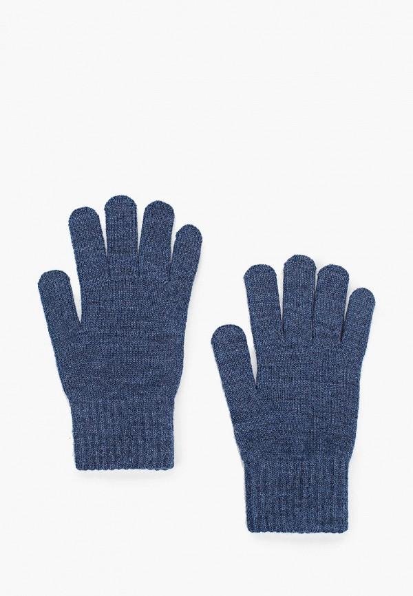 женские текстильные перчатки ferz, синие